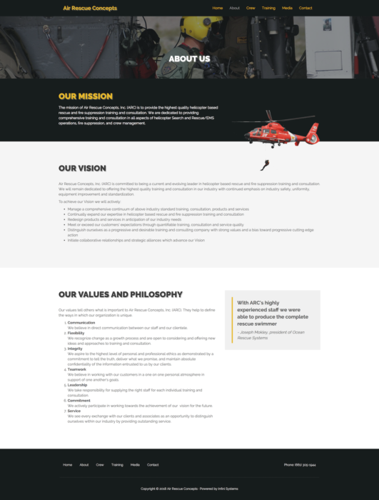 website-design-air-rescue-about