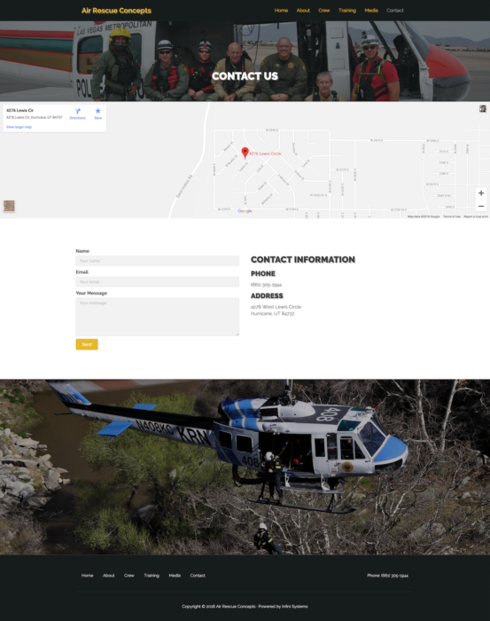 website-design-air-rescue-contact