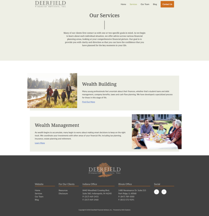 website-design-deerfield-services