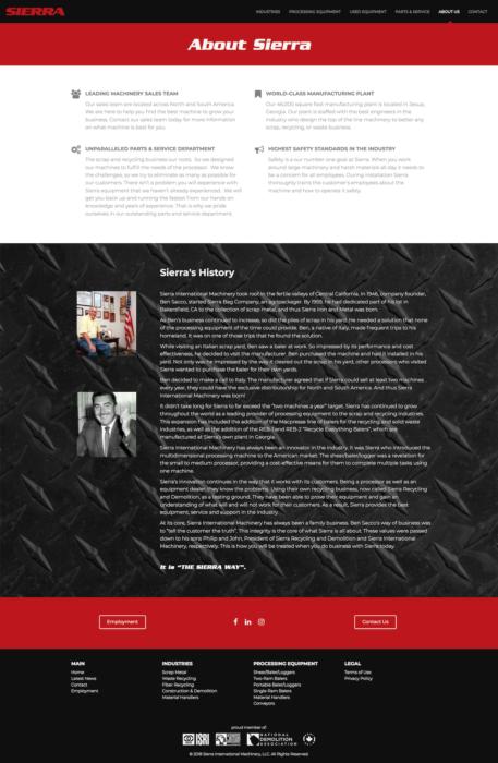 website-design-sierra-about