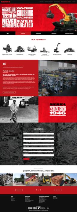 website-design-sierra-homepage