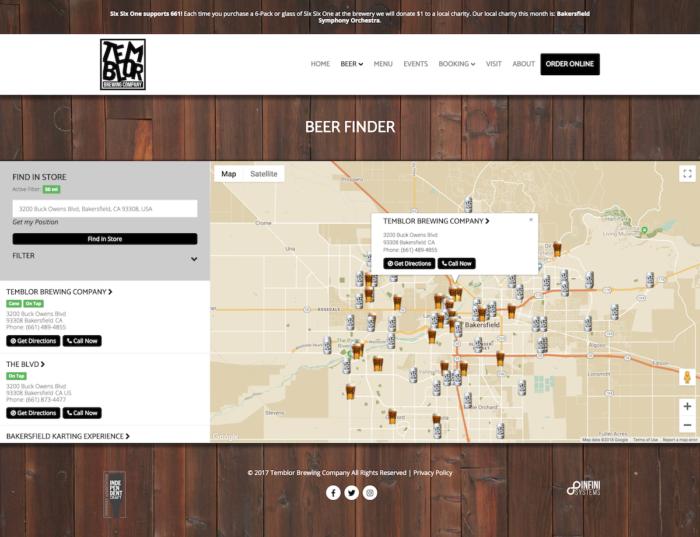 website-design-temblor-beerfinder