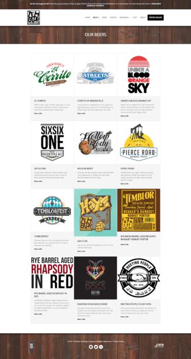 website-design-temblor-beers