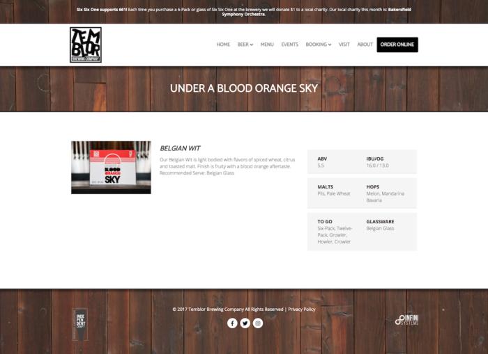 website-design-temblor-singlebeer