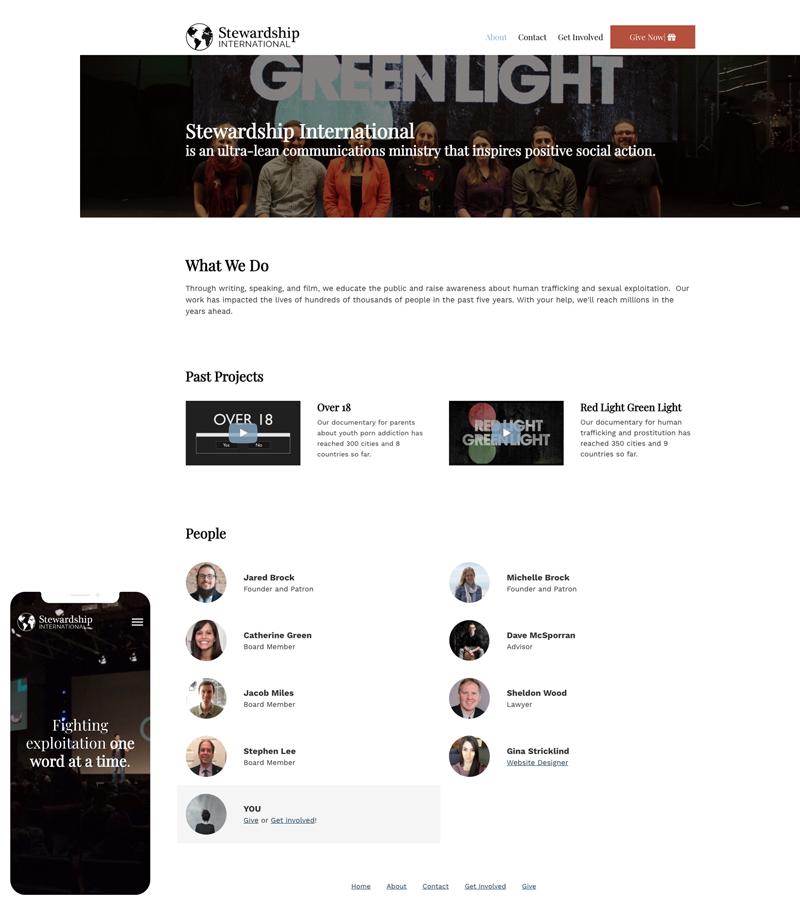 non-profit-website