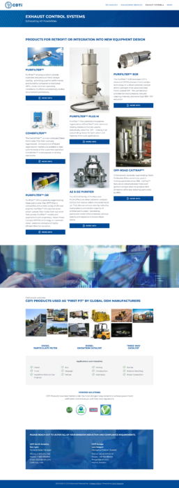 website-design-cdti-specialty-emission-systems